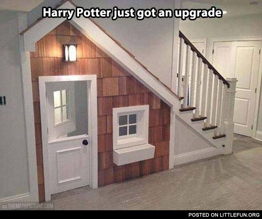 Harry Potter just got an upgrade. Nice house.