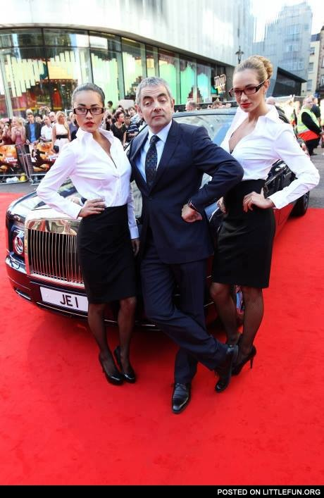 Mr. Bean like a boss