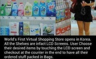 Virtual shopping store