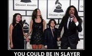 You could be in Slayer and your teenage daughter will still think you are lame