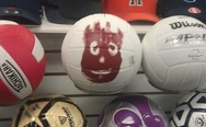 Wilson ball in the store