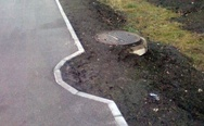 Go home manhole, you are drunk