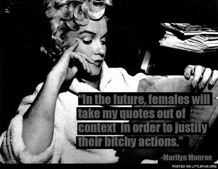 Marilyn Monroe and her quotes