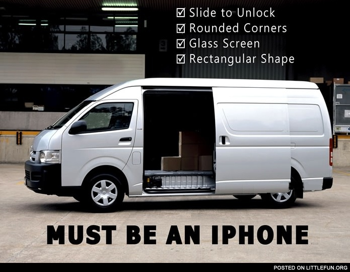 Must be an iPhone