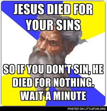Jesus dies for your sins