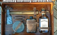Monday morning survival kit