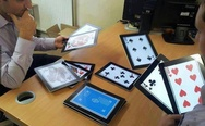Tablet poker
