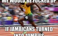 If Jamaicans turned into zombies