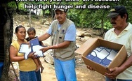 This is how your likes help fight hunger and disease