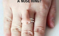 A nose ring
