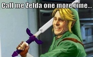 Call me Zelda one more time