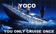 You only cruise once