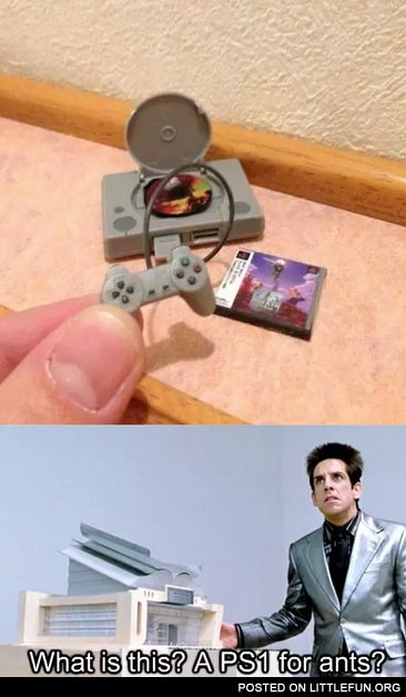 PS1 for ants