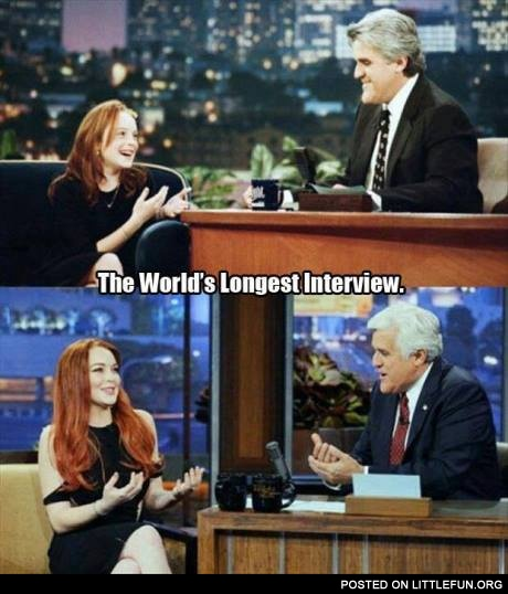 The world's longest interview