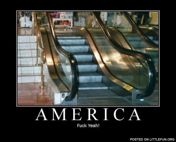 Escalator in USA