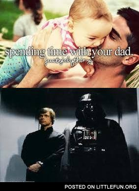 Spending time with your dad