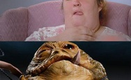 Honey Boo Boo vs. Jabba