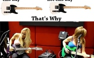 Why are guitars shaped this way? That's why.