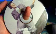 Just a cd with a finger