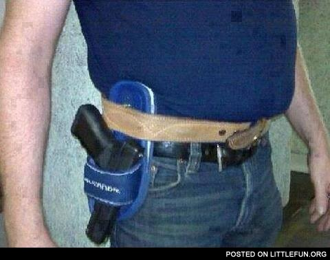 Holster slipper