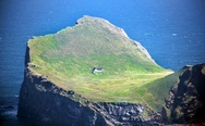 Lonely house in Vestmannaeyjar, Iceland