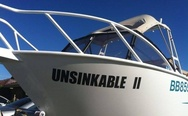Unsinkable 2. Good luck for this boat!
