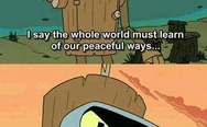 Peaceful Bender
