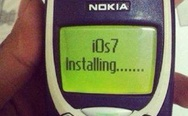 iOs7 and Nokia 3310