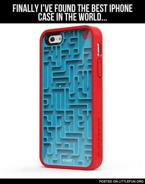 Finally I've found the best iPhone case in the world
