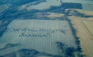 Will you marry me Joanna? Farm boy proposes like a boss.