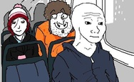 That feel when a woman sits next to a greasy creep rather than sitting next to you on public transportation
