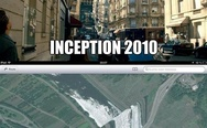 Inception 2010 vs. Apple maps 2012