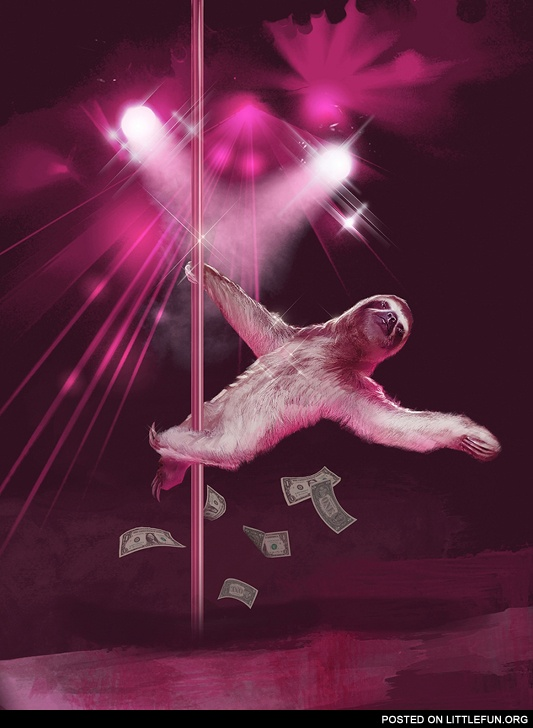 Sloth the stripper