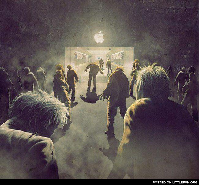Apple zombies