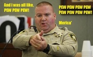 And I was all like, pew pew pew, Merica'