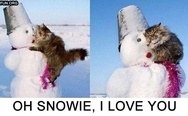 Oh snowie, I love you