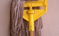 Wet floor, watch your dubstep. Skrillex mop.