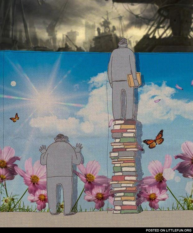 Knowledge. The different view.