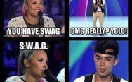 You have swag. SWAG - someone who acts gay