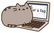 You are a fag. Pusheen the cat.