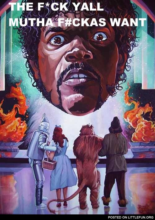 Samuel L. Jackson the Wizard of Oz