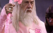 Gandalf in a Hello Kitty costume