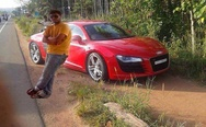 Audi R8 and master of Photoshop