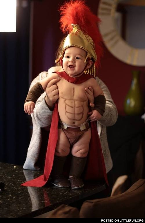 Spartan kid costume