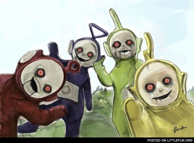 Evil teletubbies