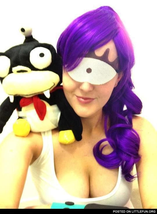 Leela from Futurama costume
