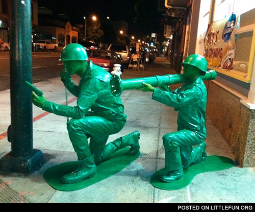 Toy soldiers costumes