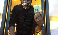 Bane in Starbucks