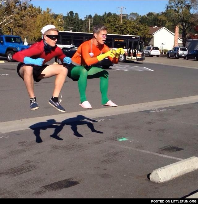 To the invisible boat mobile!