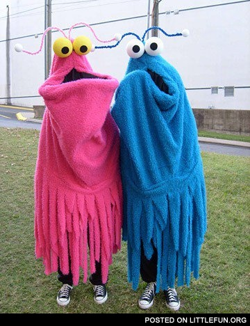 Cookie monsters costumes